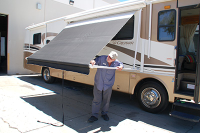 Rv Awning Repair San Diego Rv Awning Replacement Rv
