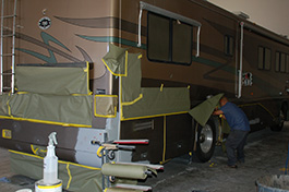 RV Collision Repair San Diego