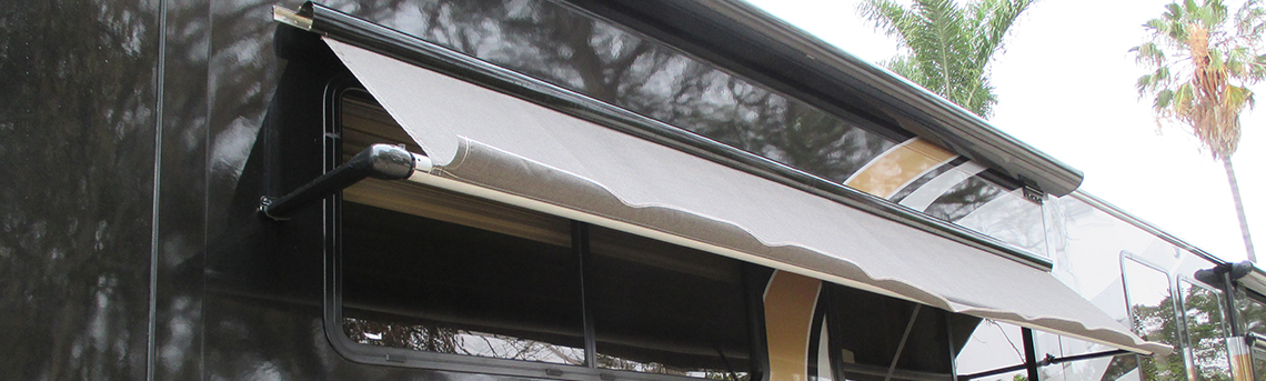Decorating rv window awning inspiring photos gallery for Awning replacement windows