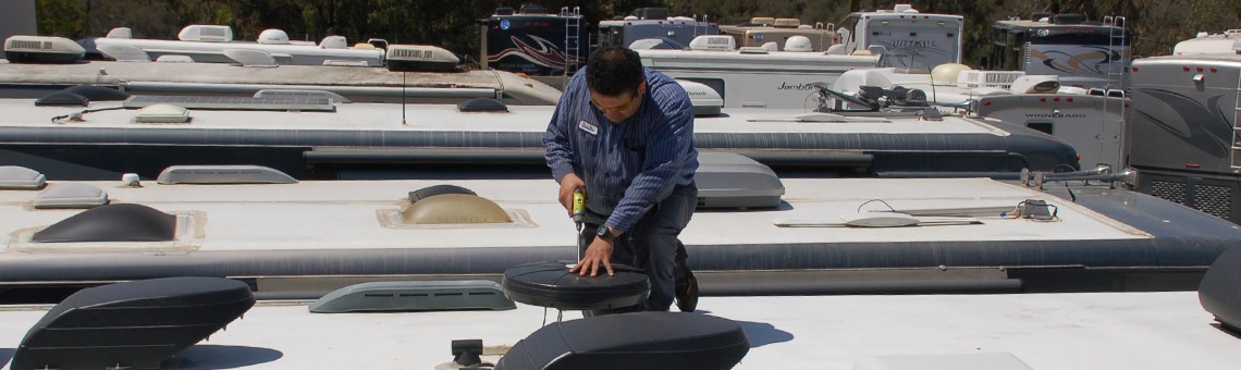 When Your RV Roof Becomes Damaged, RV Specialists Has The Know-how To Repair And Refinish It To Manufacturer Specifications.